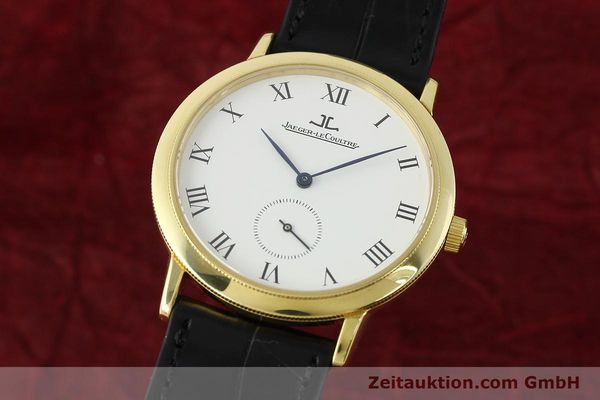 JAEGER LE COULTRE GENTILHOMME 18 CT GOLD MANUAL WINDING KAL. 818/4 [142070]