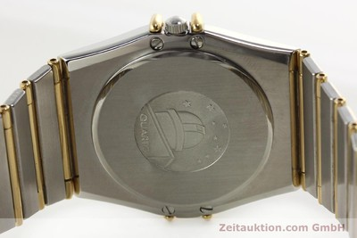 OMEGA CONSTELLATION STAHL / GOLD DIAMANTEN HERRENUHR DATUM VP: 6000,- EURO [142071]