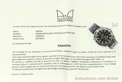 OMEGA SEAMASTER PLANET OCEAN CO AXIAL AUTOMATIK CHRONOMETER 2500C VP: 4620,-EURO [142084]