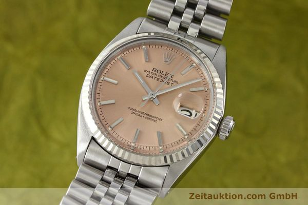 ROLEX DATEJUST ACIER / OR  AUTOMATIQUE KAL. 1570  [142085]