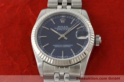 ROLEX DATEJUST STEEL / WHITE GOLD AUTOMATIC KAL. 2135 [142099]