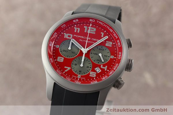 PORSCHE DESIGN DASHBORD CHRONOGRAPHE TITANE AUTOMATIQUE KAL. ETA 2894-2 [142111]