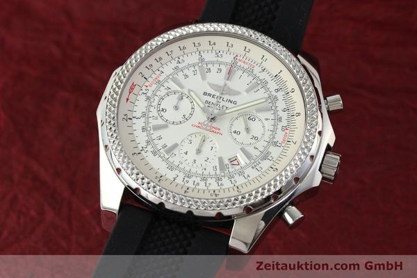 BREITLING FOR BENTLEY MOTORS CHRONOGRAPH AUTOMATIK STAHL A25362 VP: 7750,- EUR [142120]