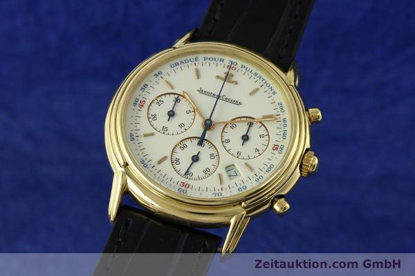 JAEGER LE COULTRE ODYSSEUS CHRONOGRAPHE OR 18 CT QUARTZ KAL. 630 VINTAGE [142124]