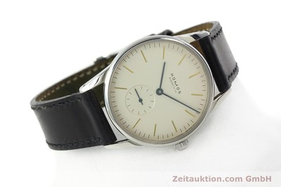 NOMOS ORION STEEL MANUAL WINDING KAL. ETA 7001 LP: 1400EUR [142126]