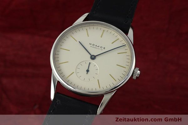 NOMOS ORION ACERO CUERDA MANUAL KAL. ETA 7001 LP: 1400EUR [142126]