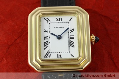CARTIER 18 CT GOLD MANUAL WINDING KAL. 78-1 ETA 2512-1 [142129]