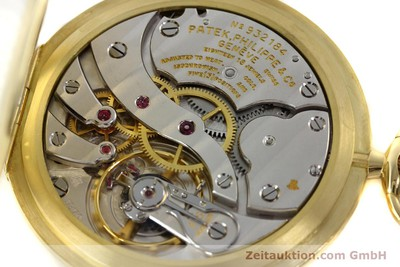 PATEK PHILIPPE TASCHENUHR 18 CT GOLD MANUAL WINDING KAL. 17-170 [142132]