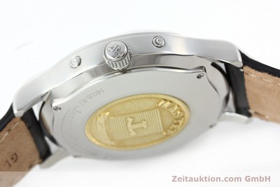 JAEGER LE COULTRE MASTER CONTROL STEEL AUTOMATIC KAL. 891/447 [142137]