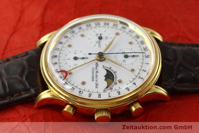 CHRONOSWISS A. ROCHAT CHRONOGRAPH GOLD-PLATED AUTOMATIC KAL. VAL 7750 [142139]