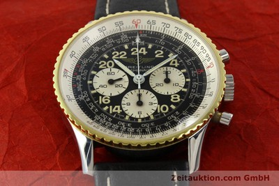 BREITLING NAVITIMER CHRONOGRAPH STEEL / GOLD MANUAL WINDING KAL. LWO 1873 [142141]