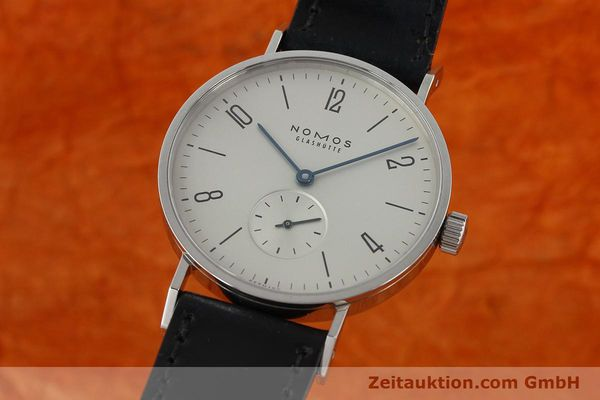 NOMOS TANGENTE STEEL MANUAL WINDING KAL. ALPHA 27680 [142147]