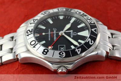 OMEGA SEAMASTER GMT CHRONOMETER AUTOMATIK EDELSTAHL 50 YEARS EDITION VP: 3200,-Euro [142157]