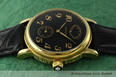 MONTBLANC MEISTERSTÜCK GOLD-PLATED MANUAL WINDING KAL. 4810901 ETA 7001 [142161]