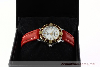BREITLING LADY J CLASS STAHL/GOLD DAMENUHR TOP D52065 VP: 2290,-EUR [142183]