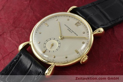 VACHERON & CONSTANTIN 18 CT GOLD MANUAL WINDING KAL. 458/2B [142194]