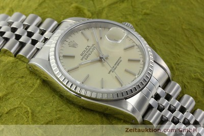 ROLEX DATEJUST STEEL AUTOMATIC KAL. 3135 [142196]