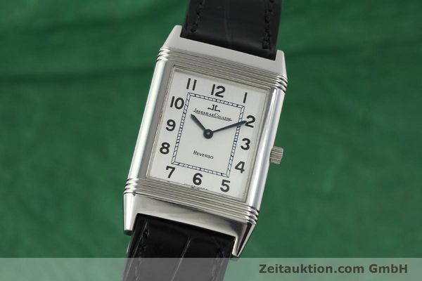 JAEGER LE COULTRE REVERSO STEEL MANUAL WINDING KAL. 846/1 LP: 4800EUR [142202]