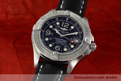 BREITLING SUPEROCEAN STEELFISH HERRENUHR AUTOMATIK CHRONOMETER A17360 LP: 3400,- [142210]