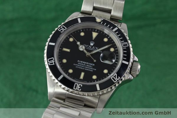 ROLEX SUBMARINER STEEL AUTOMATIC KAL. 3135 [142214]