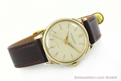 IWC PORTOFINO 14 CT YELLOW GOLD AUTOMATIC KAL. 852 [142224]