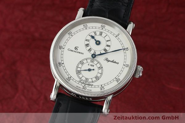 CHRONOSWISS REGULATEUR EDELSTAHL AUTOMATIK HERRENUHR CH1223 LP: 4960,- EURO [142228]