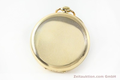 IWC TASCHENUHR 14 CT YELLOW GOLD MANUAL WINDING KAL. H5 [142234]