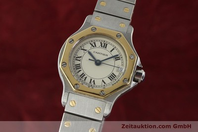 CARTIER SANTOS STEEL / GOLD QUARTZ KAL. 87 LP: 5600EUR [142240]