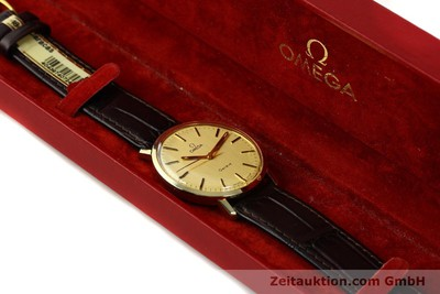 OMEGA 14 CT YELLOW GOLD MANUAL WINDING KAL. 1030 [142241]
