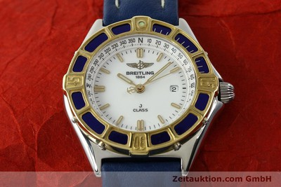 BREITLING LADY J CLASS STAHL/GOLD DAMENUHR TOP D52063 VP: 2290,- EURO [142243]