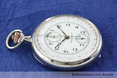 OMEGA TASCHENUHR CHRONOGRAPH GERMAN SILVER MANUAL WINDING [142246]