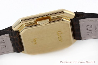 CARTIER 18 CT GOLD MANUAL WINDING KAL. 71-1 ETA 7512-1 [142249]