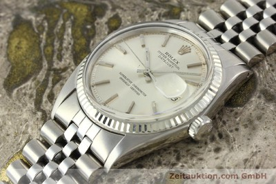 ROLEX DATEJUST STEEL / WHITE GOLD AUTOMATIC KAL. 1570 [142252]