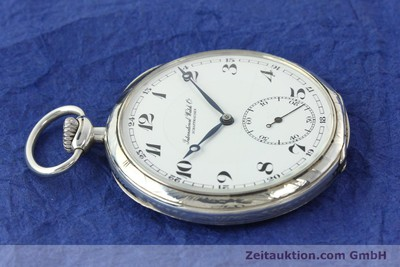 IWC TASCHENUHR SILVER MANUAL WINDING KAL. H5 [142253]