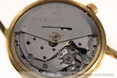 GLASHÜTTE SPEZIMATIC GOLD-PLATED AUTOMATIC KAL. 75 [142265]