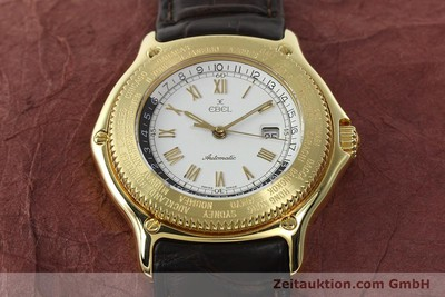EBEL 18K ( 0,750 ) VOYAGER DICOVERY AUTOMATIK DATUM REF 8124913 VP: 8650,- EURO [142268]