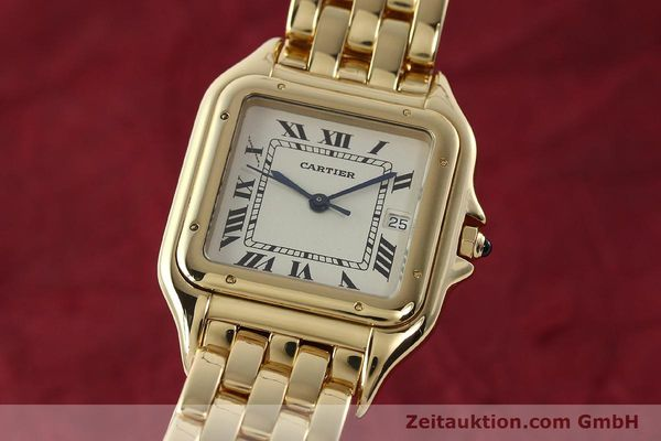CARTIER PANTHERE ORO 18 CT QUARZO KAL. 87 [142272]