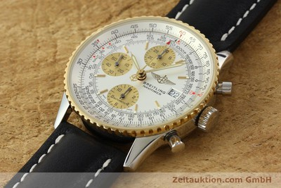 BREITLING NAVITIMER CHRONOGRAPH STEEL / GOLD AUTOMATIC KAL. B13 ETA 7750 [142274]