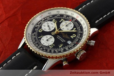 BREITLING NAVITIMER CHRONOGRAPH STEEL / GOLD AUTOMATIC KAL. B13 ETA 7750 [142275]