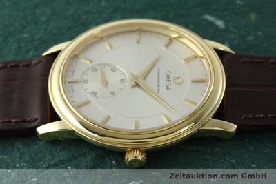 OMEGA DE VILLE 18 CT GOLD MANUAL WINDING KAL. 652 LP: 7340EUR [142286]