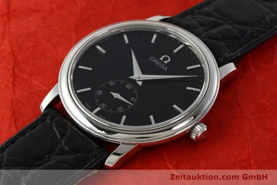 OMEGA DE VILLE STEEL MANUAL WINDING LP: 2670EUR [142294]