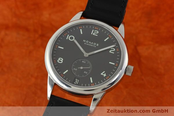NOMOS CLUB STEEL AUTOMATIC KAL. ZETA 5333 LP: 2440EUR  [142298]