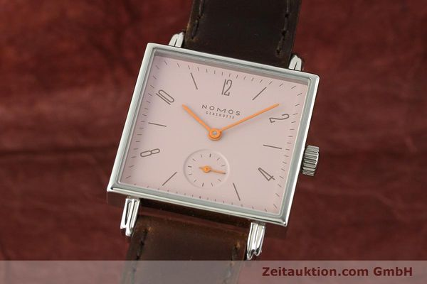 NOMOS TETRA STEEL MANUAL WINDING KAL. ALPHA 41322 [142311]