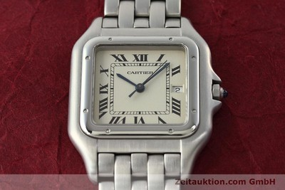 CARTIER PANTHERE STEEL QUARTZ KAL. 87.06 LP: 3500EUR [142312]