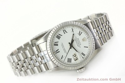 ROLEX DATEJUST STEEL AUTOMATIC KAL. 3035 [142313]