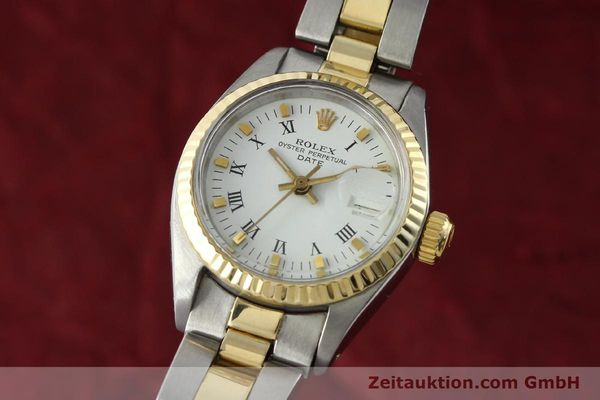 ROLEX LADY DATE ACIER / OR  AUTOMATIQUE KAL. 2030 LP: 6950EUR  [142329]