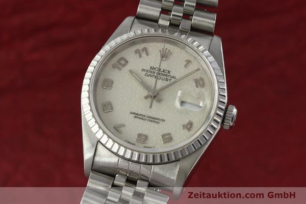 ROLEX DATEJUST STEEL AUTOMATIC KAL. 3135 LP: 5400EUR [142330]
