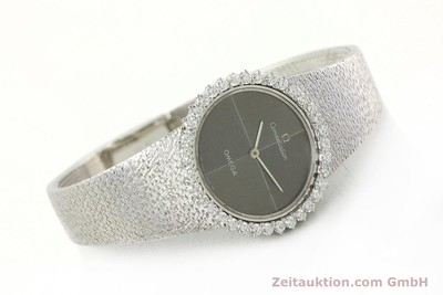 OMEGA CONSTELLATION 18 CT WHITE GOLD MANUAL WINDING KAL. 700 LP: 18500EUR [142339]