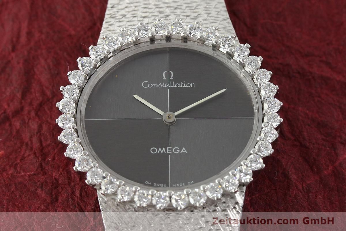 omega constellation 18 ct white gold manual winding kal 700 rh zeitauktion com omega constellation manufacture date omega constellation manual