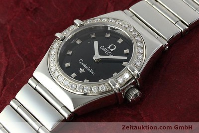 OMEGA LADY CONSTELLATION MY CHOICE EDELSTAHL DAMENUHR DIAMANTEN VP: 3900,- EUR [142340]